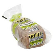 Bread, Whole Grain, 8 of 12 OZ, Udi'S Gluten Free