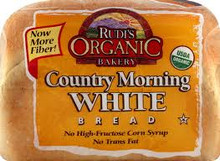 Country Morning White, 8 of 22 OZ, Rudi'S Organic Bakery