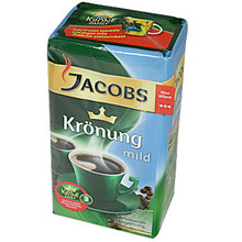 Jacobs Kronung Ground German Coffee Mild 17.64 oz  From Jacobs
