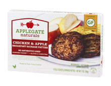 Breakfast, Chicken & Apple GF, 12 of 7 OZ, Applegate Farms