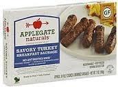 Savory Turkey Breakfast, 12 of 7 OZ, Applegate Farms