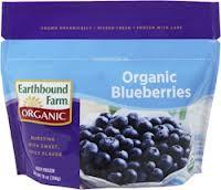 Blueberries, 12 of 10 OZ, Earthbound Farm