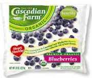Blueberries, 12 of 8 OZ, Cascadian Farm