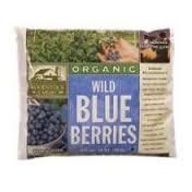 Blueberries, Wild, IQF, 4 of 5 LB, Woodstock