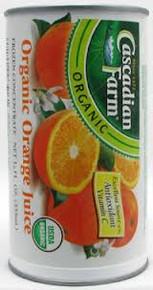 Orange, 12 of 12 OZ, Cascadian Farm