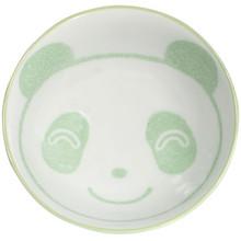 Child's Green Panda Rice Bowl  From Kotobuki
