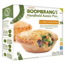 Curry Veggie (Vegan 2 Pk), 6 of 12 OZ, Boomerang'S Pies