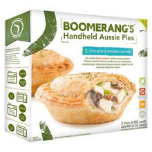 Chicken & Mushroom, 6 of 12 OZ, Boomerang'S Pies