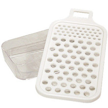 Grater with Clear Plastic Container  From Kotobuki