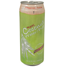 Natural Coconut Water Pulp Can 16.2 oz  From Taste Nirvana