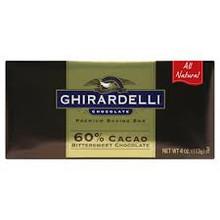 Bittersweet Chocolate, 12 of 4 OZ, Ghirardelli