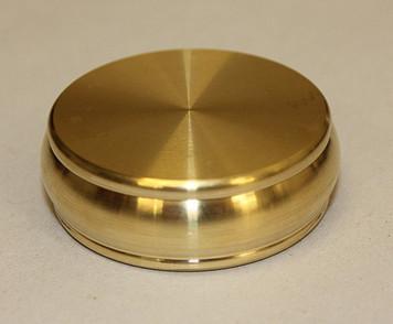 Buddha Plug Box, Half Dollar Size, Brass