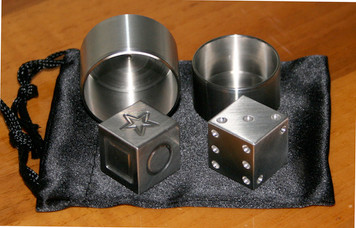 Die-Cipher Stainless Steel Set