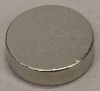 "Super strong Neodymium Magnet .375"" x .100"" (8)"