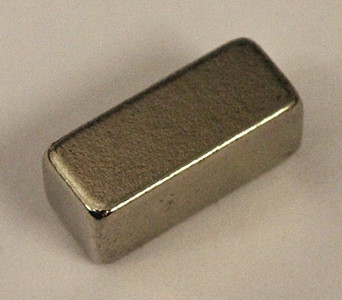 "Super strong Neodymium Block Magnet .375"" x .187"" x .125"" (4)"