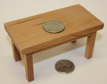Coin Table, Prototype