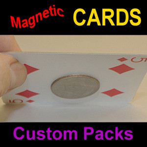 Magnetic Cards - Custom Pack (6)