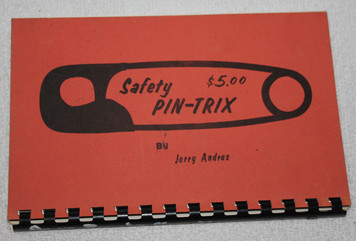 Andrus Linking PIns Book, Vintage, Autographed.