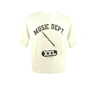 Music Dept. Clarinet T-Shirt - One Size, X-Large