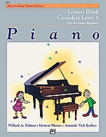 Alfred's Basic Piano Course: Lesson Book Complete 1