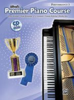 Premier Piano Course: Performance Book 3