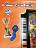 Premier Piano Course: Performance Book 4