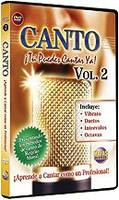 Canto Vol. 2 -Tu Puedes Cantar Ya! DVD