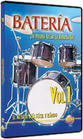 Bateria Vol. 1 DVD