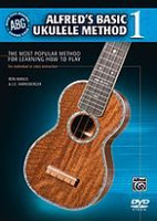 Alfred's Basic Ukulele Method Book 1 DVD