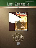 Led Zeppelin: II - Alfred's Classic Album Editions BASS