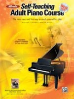 Alfred's Self-Teaching Adult Piano Course - Book/CD/DVD