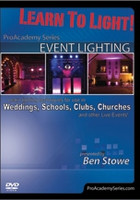 Learn to Light! Pro Academy Series: Event Lighting DVD