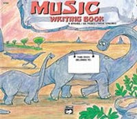 Alfred's Basic Music Writing Book - Dinosaur
