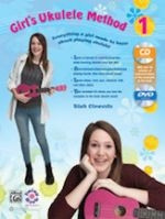 Girl's Ukulele Method 1 - Book, CD & DVD