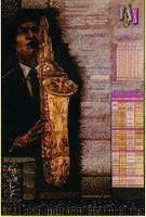 Saxophone Poster (Laminated)