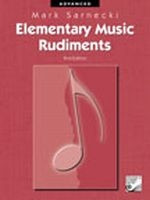 Elementary Music Rudiments, 2nd Edition: Advanced TSR03