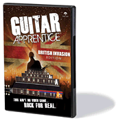 Guitar Apprentice - British Invasion DVD