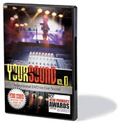 Your Sound - Vol. 1 - Instructional DVD on Live Sound