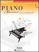 Piano Adventures Level 4 - Technique & Artistry Book