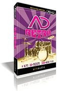 AD Retro Addictive Drums ADpak CD-ROM