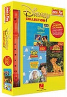 Disney Collection - Learn & Play Recorder Pack