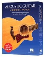 Acoustic Guitar Lesson Pack