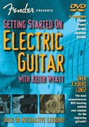 Fender Presents Getting Started on Electric Guitar DVD