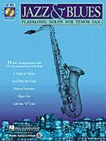 Jazz & Blues Play-Along Solos for Tenor Sax