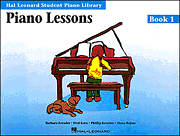 Piano Lessons Book 1 - BOOK/CD