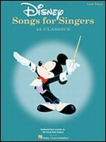 Disney Songs for Singers - Low Voice
