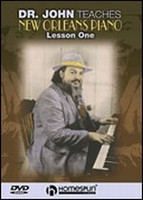 Dr. John Teaches New Orleans Piano - Lesson One DVD