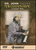 Dr. John Teaches New Orleans Piano - Lesson Two DVD