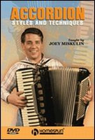 Accordion Styles and Techniques DVD