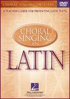 Choral Singing in Latin DVD